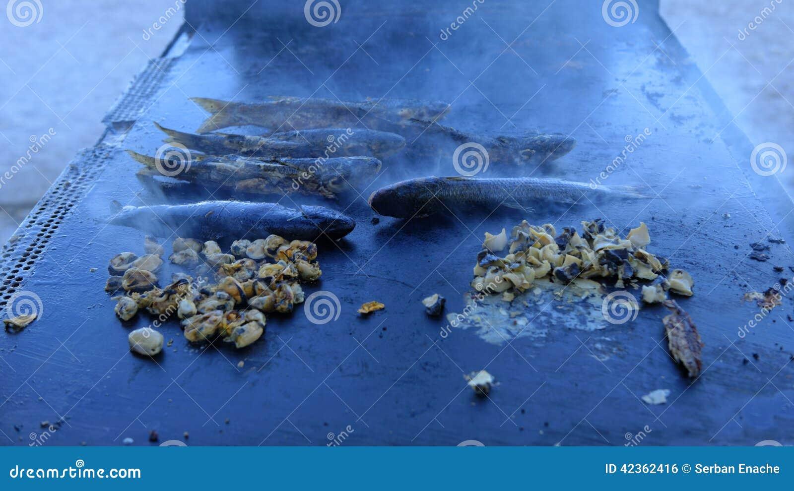 Geroosterde Vissen