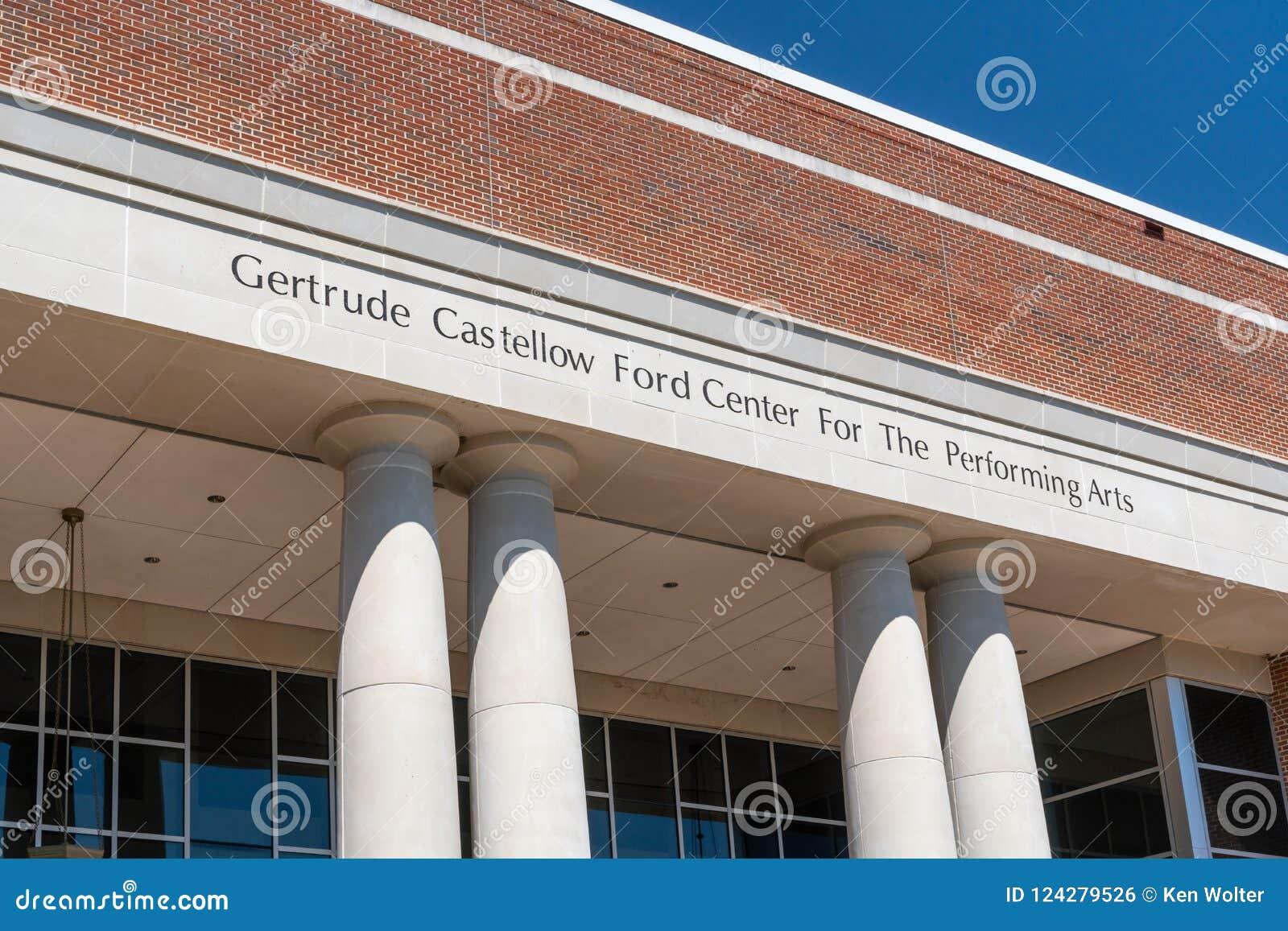 Gertrude Castellow Ford Center For as artes de palco