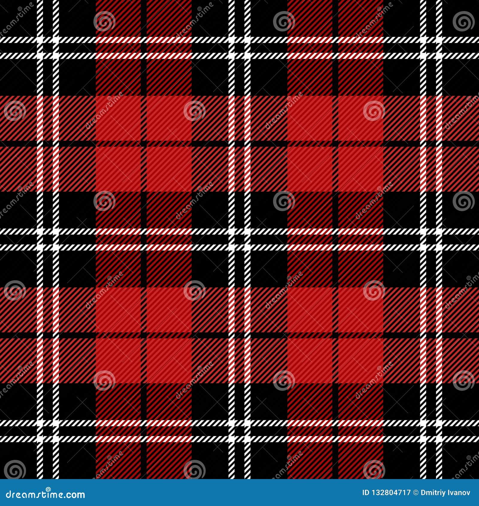 Schotse Geruite Wollen Stof.Geruite Schots Wollen Stof Van Het Kerstmis Het Nieuwe Jaar