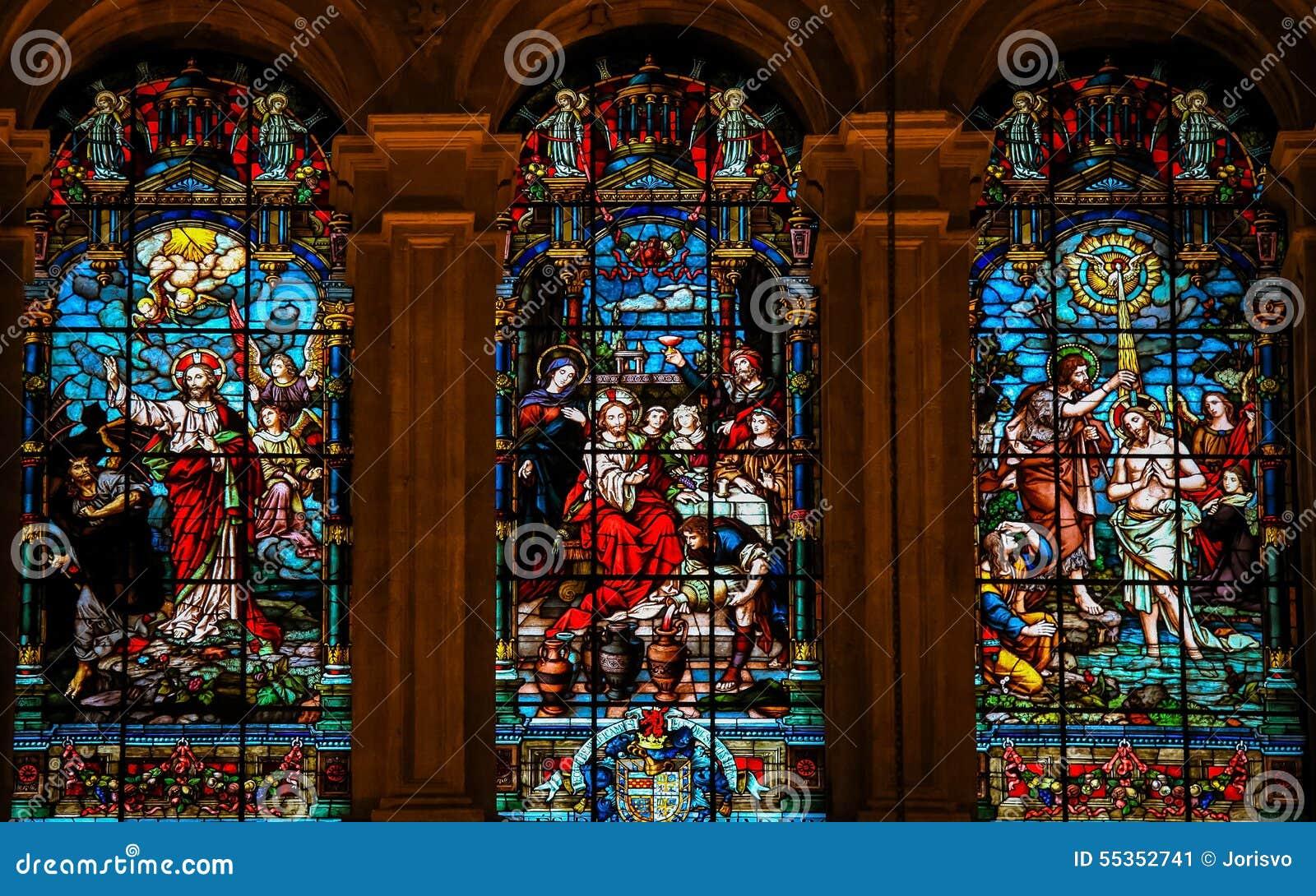Gesù e Lucifero, Gesù a Cana e battesimo da St John