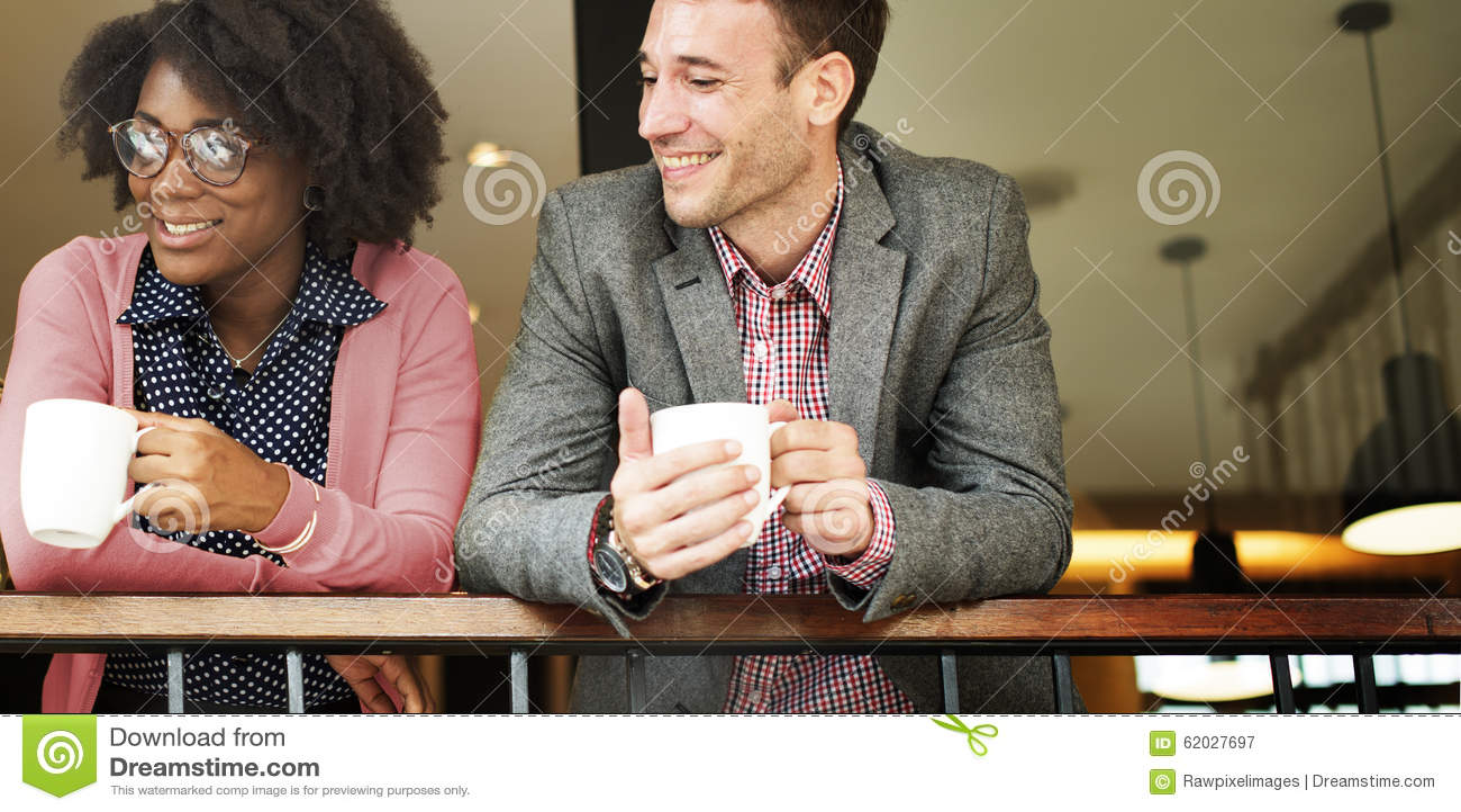Geschäft Team Coffee Break Relax Concept