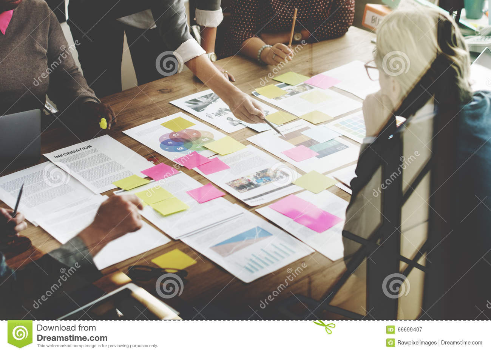 Geschäft Team Meeting Project Planning Concept