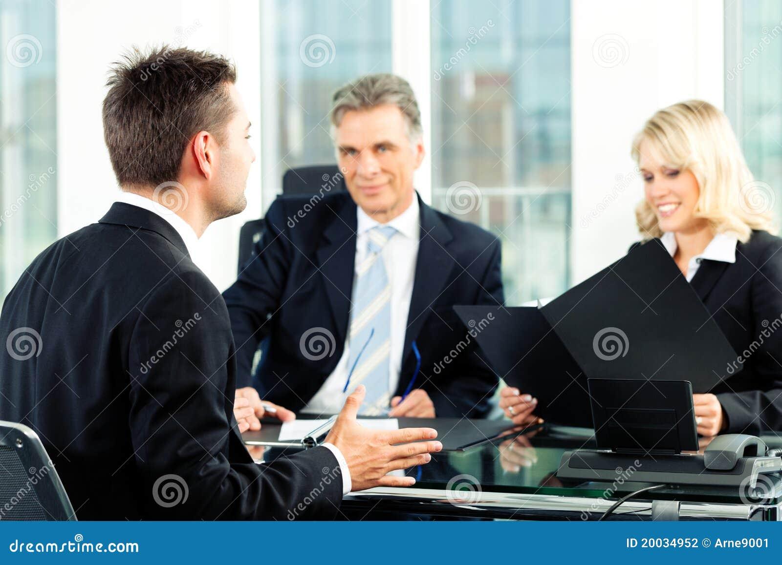 Geschäft - Vorstellungsgespräch