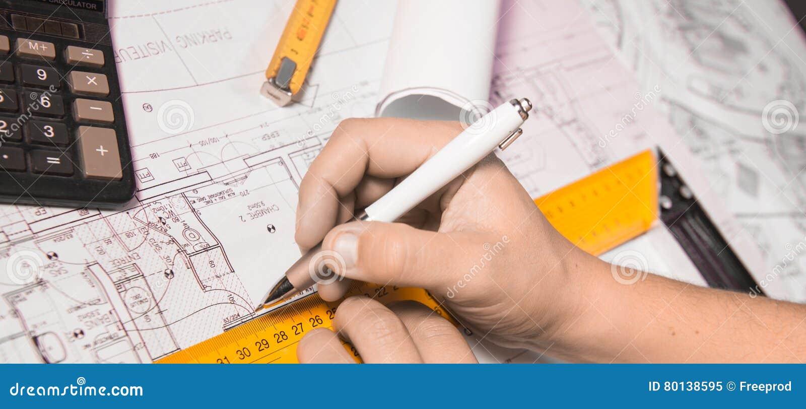 Geschäfts-, Architektur-, Gebäude-, Bau- und Leutekonzept