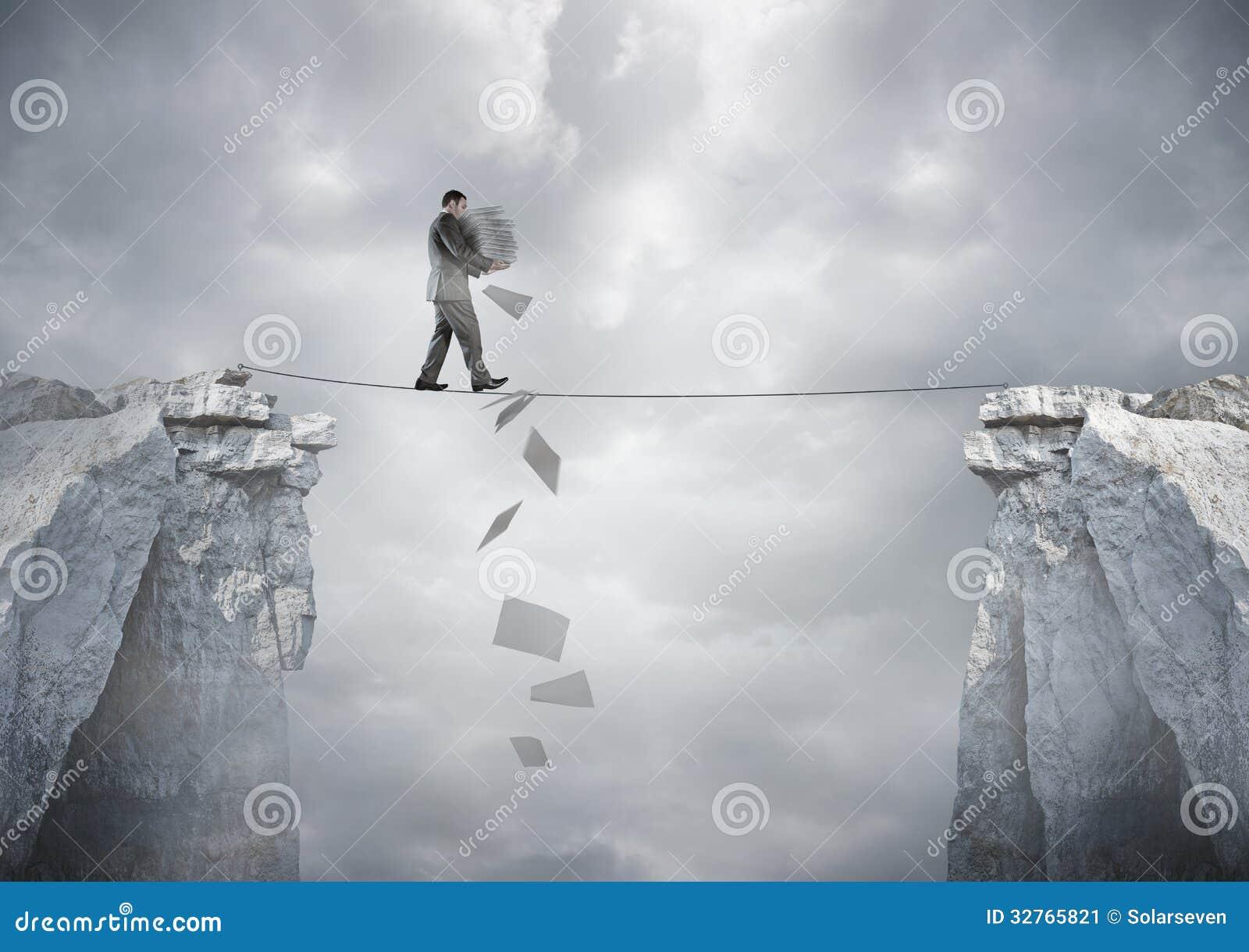 Geschäfts-Balance