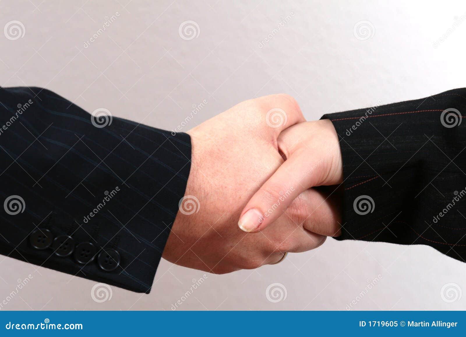 Geschäfts-Händedruck