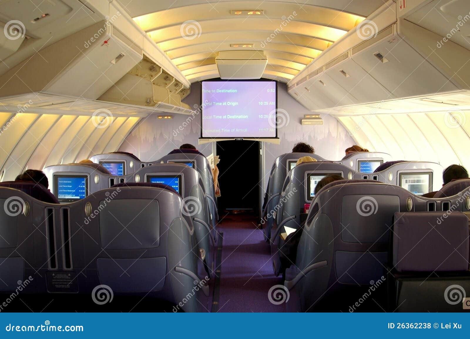 Geschäfts-Kategorien-Kabine Boeing-747