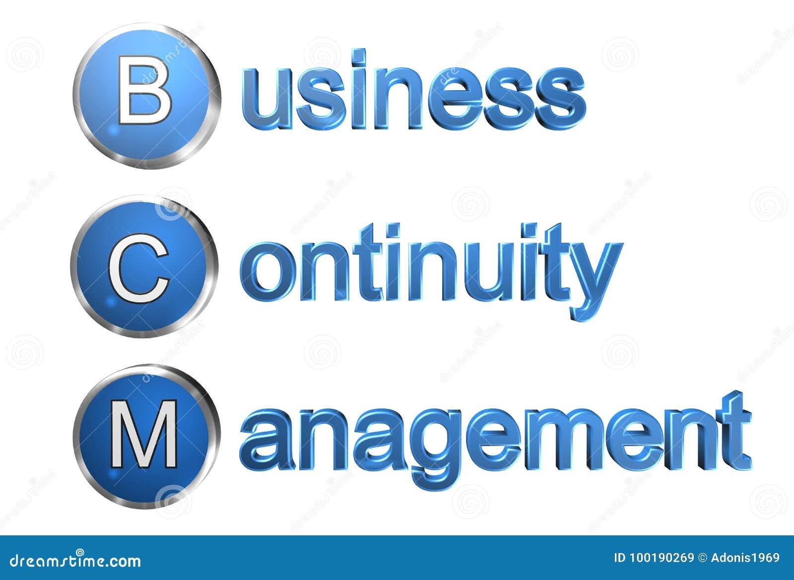 Geschäfts-Kontinuitäts-Management