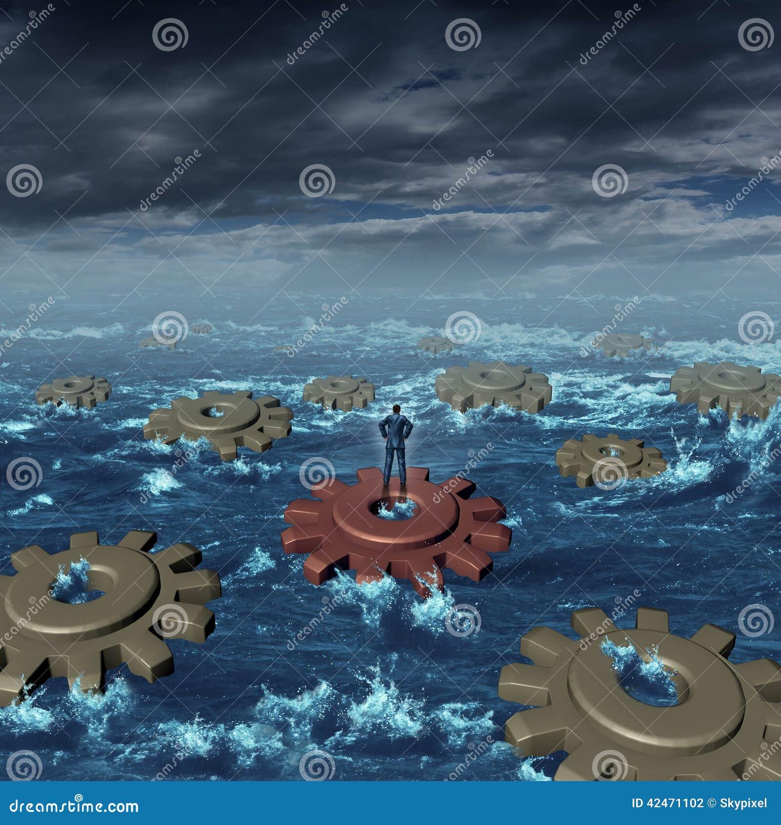 Geschäfts-Krisenmanagement