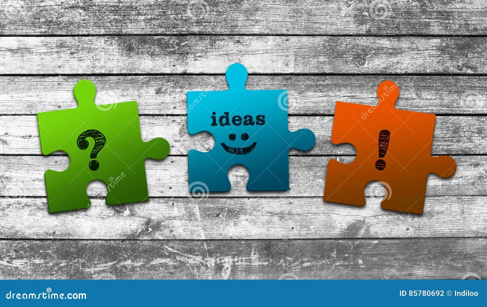 Geschäfts Laubsägen Konzept Stockfoto Bild Von Ideen Punkt 85780692