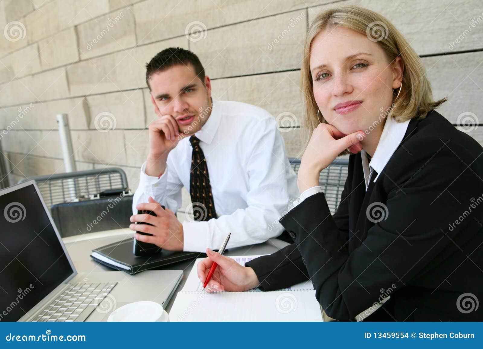 Geschäfts-Team im Büro