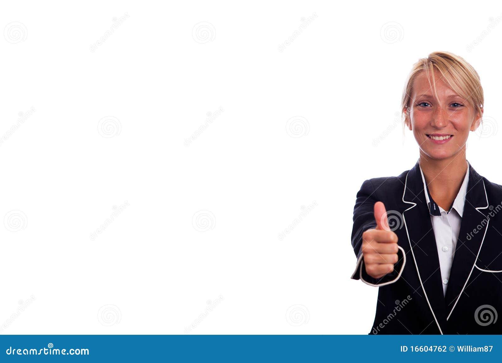 Geschäftsfrau-Portrait