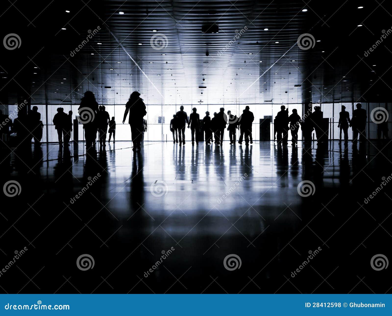 Geschäftsleute Fußgänger