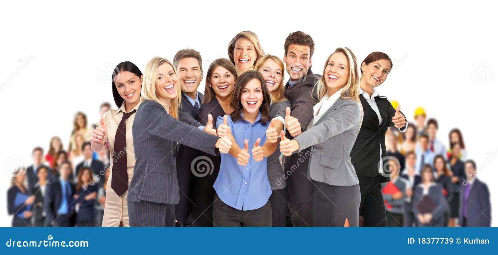 Geschäftsleute Team