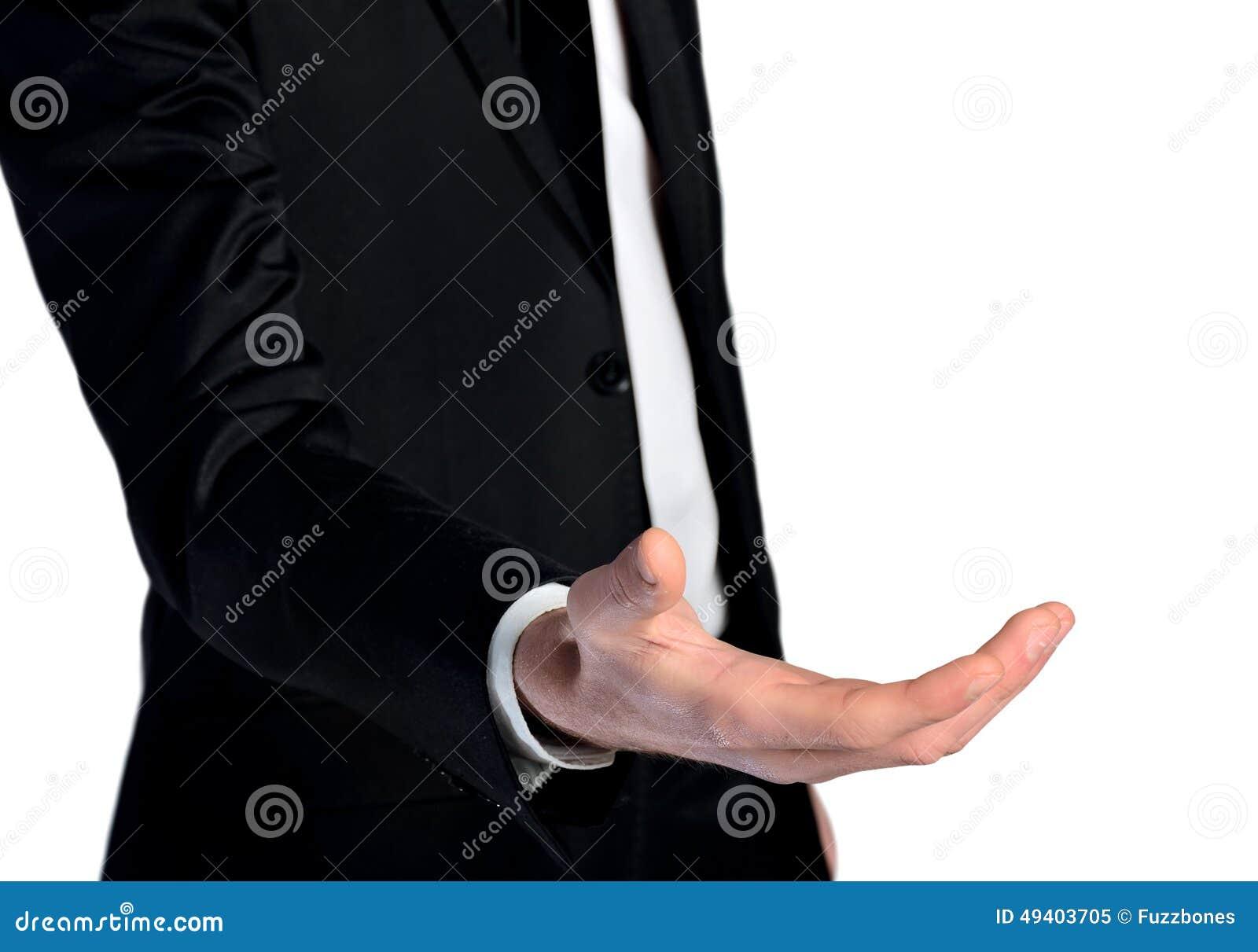 Download Geschäftsmann geben Hand stockbild. Bild von hoffnung - 49403705
