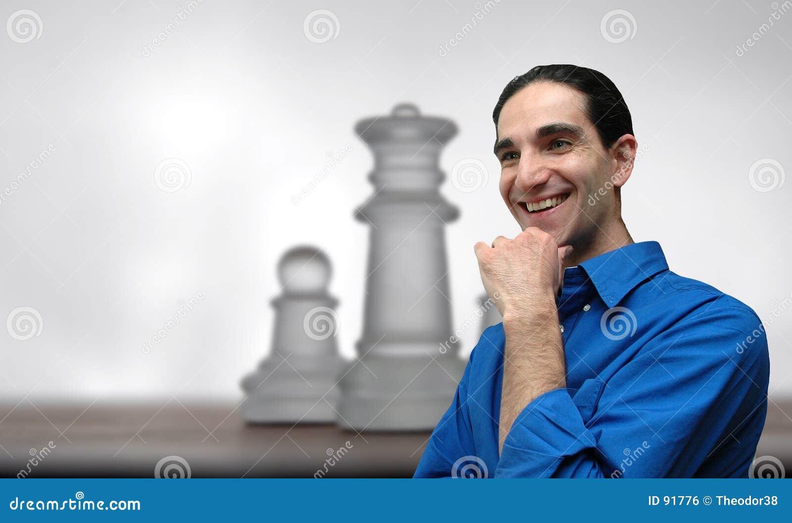 Geschäftsmann und chess-4