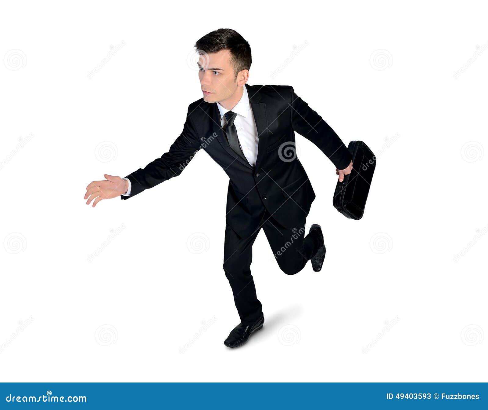 Download Geschäftsmannbetrieb stockbild. Bild von mann, hast, angestellter - 49403593
