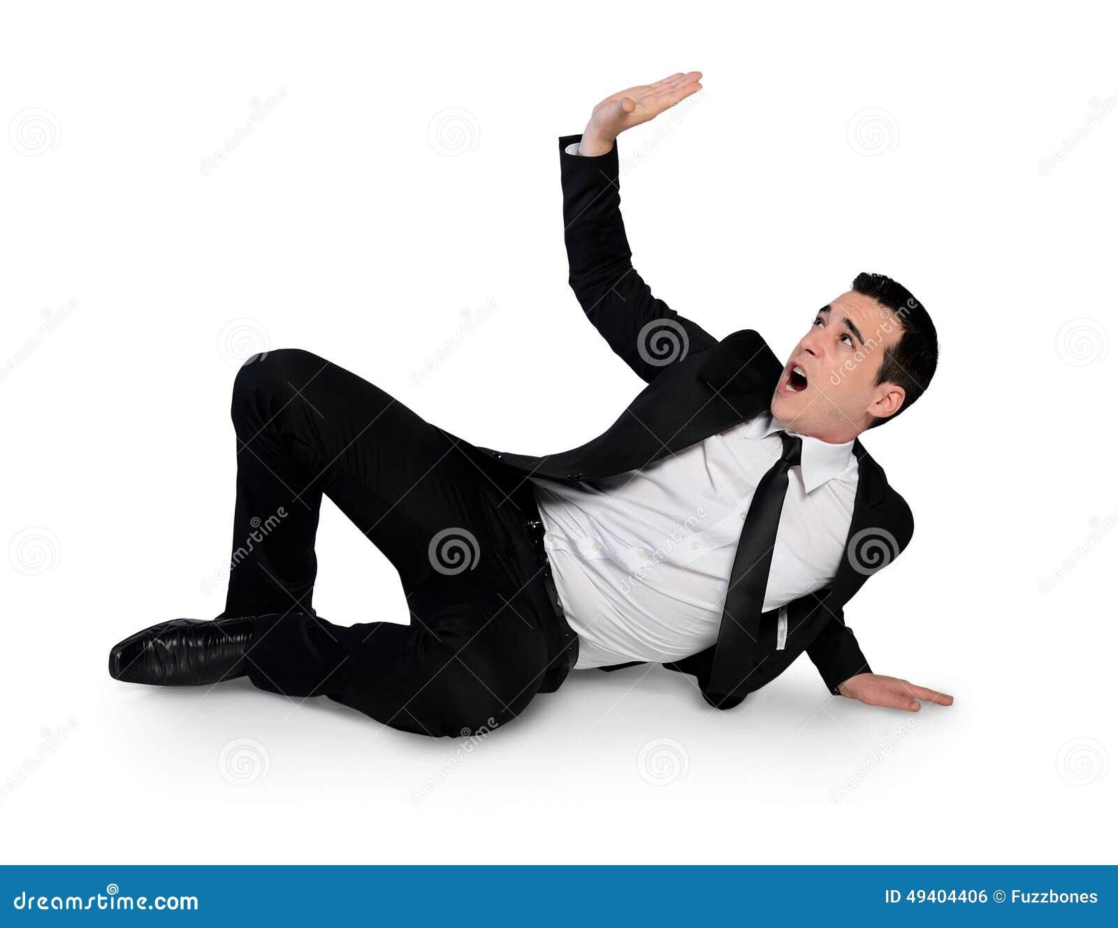 Download Geschäftsmanntrick etwas stockfoto. Bild von leer, furcht - 49404406