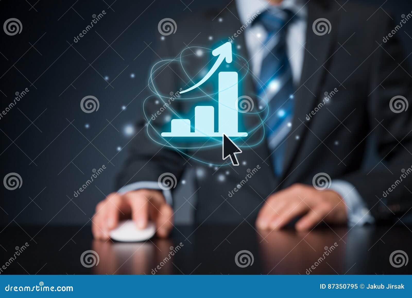 Geschäftswachstumsanalyse