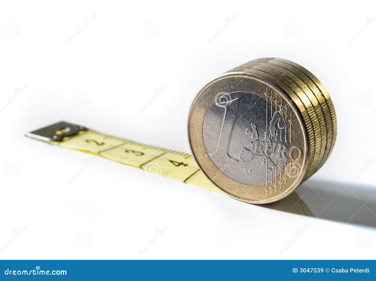 Gescheiden euro waarde