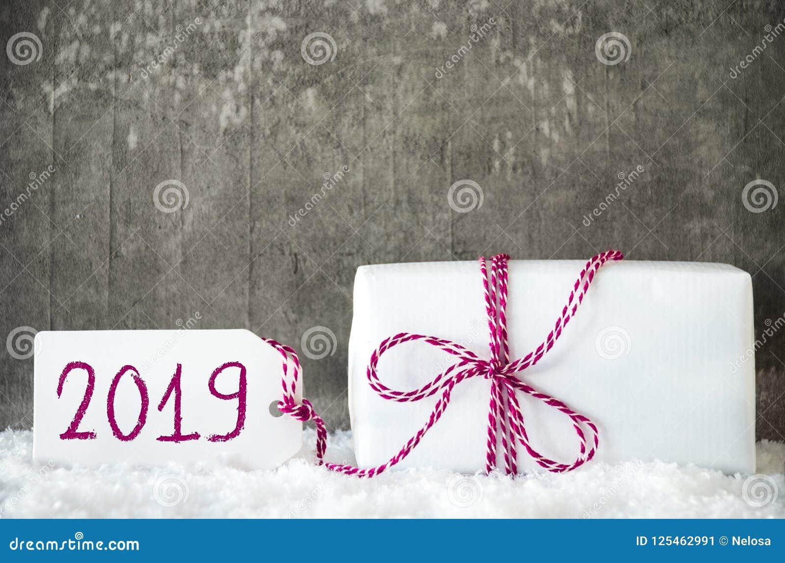 2019 Weiße Weihnachten.Geschenk Der Weißen Weihnacht Schnee Aufkleber Text 2019 Rotes