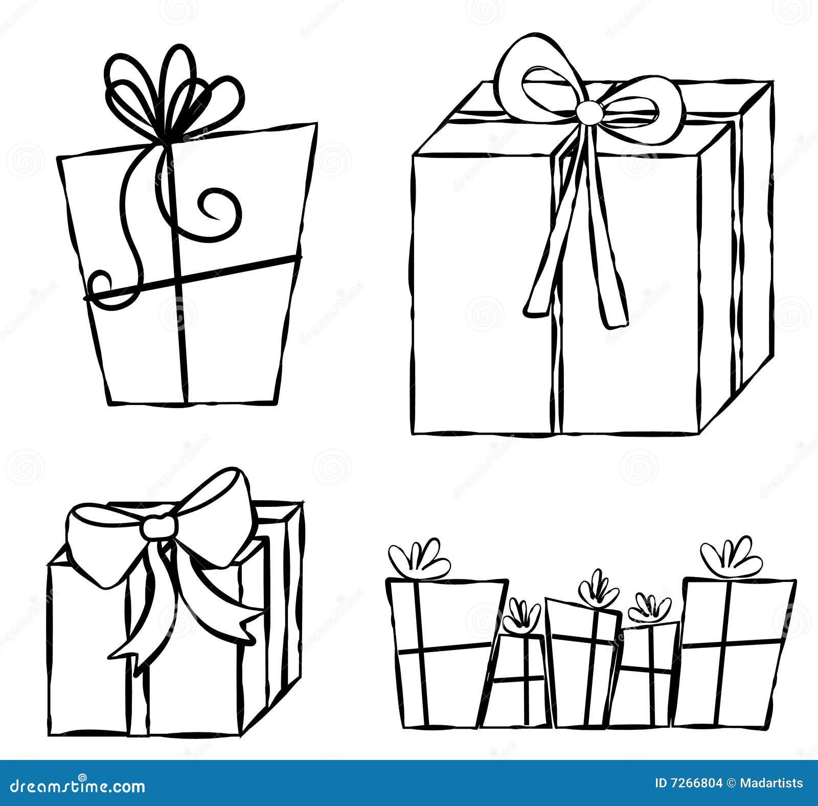 Geschenk-Geschenk-Zeile Kunst