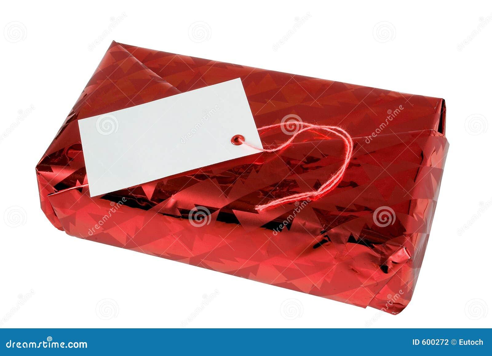 Geschenk-Paket stockfoto. Bild von geschenk, karte, festlich - 600272