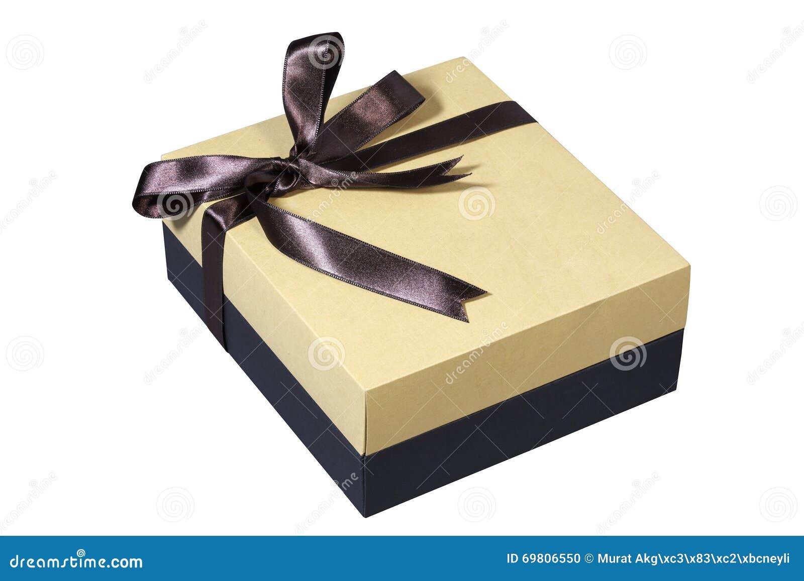 Geschenkbox Mit Bogen Für Geschenke Auf Weihnachten, Geburtstag Oder ...