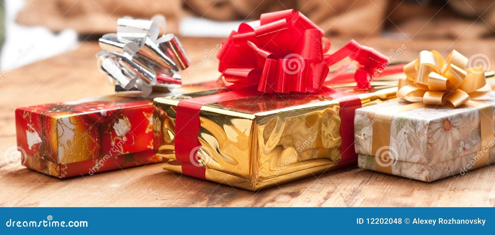 Geschenkkästen