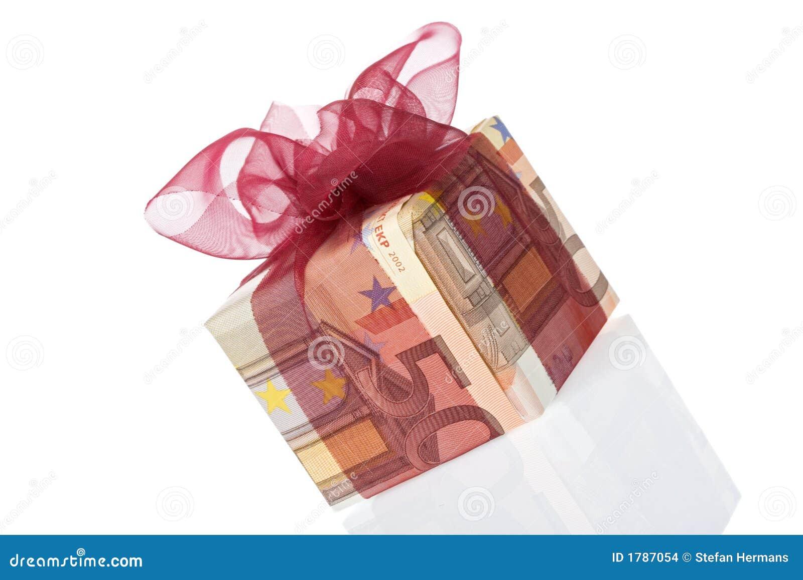 Geschenkkasten Euro 50