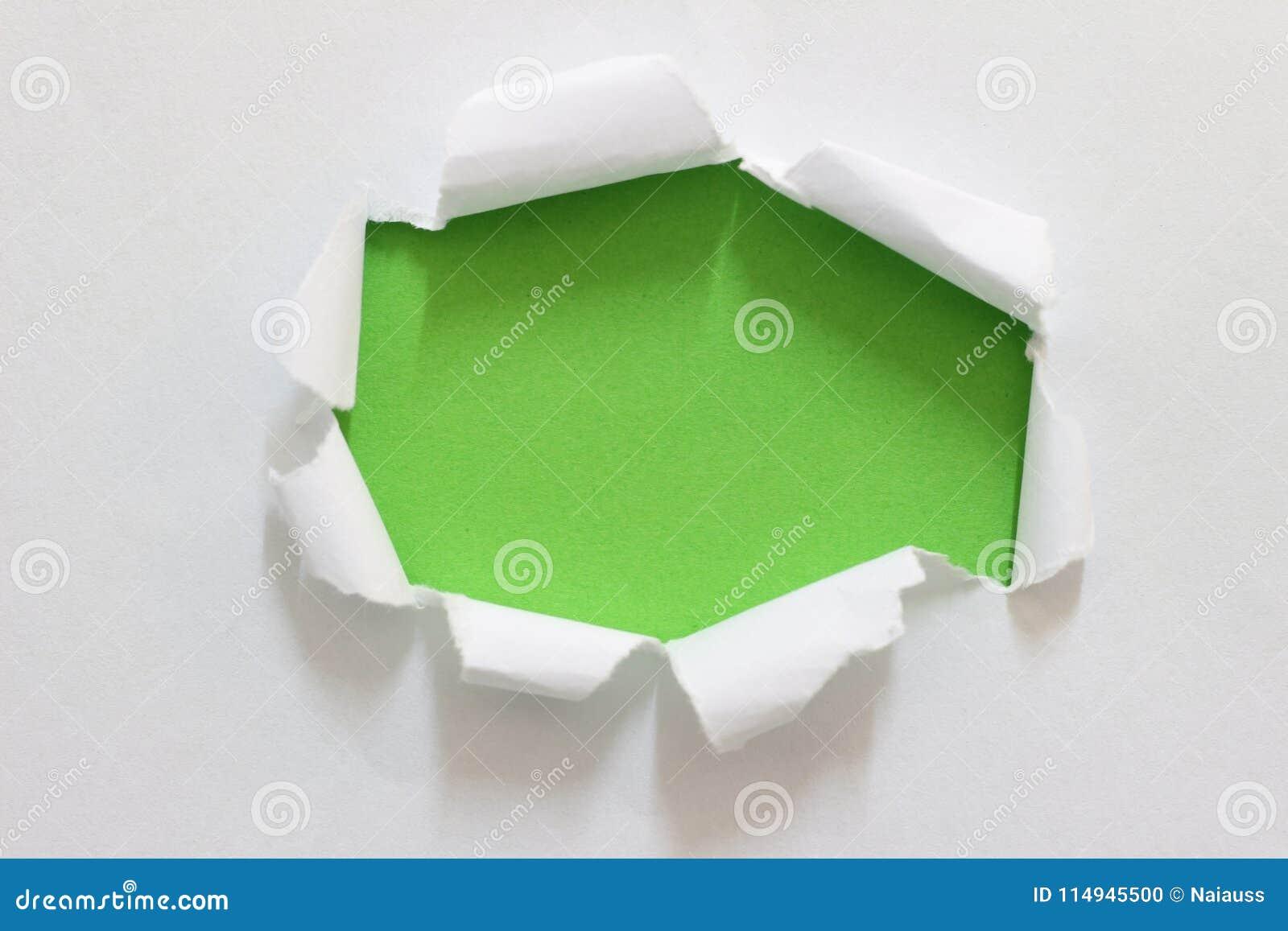 Gescheurd scheur document