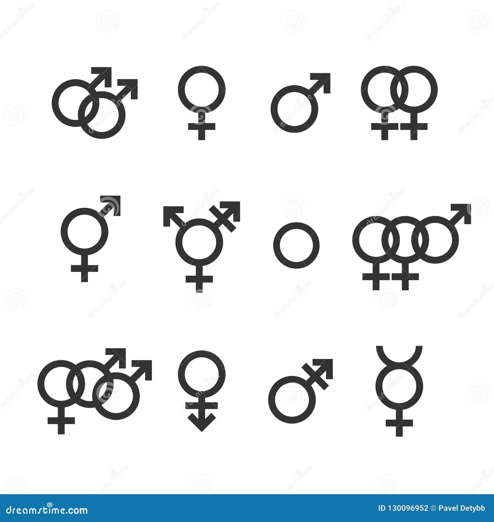 Männlich Männlich Weiblich Bisexuell