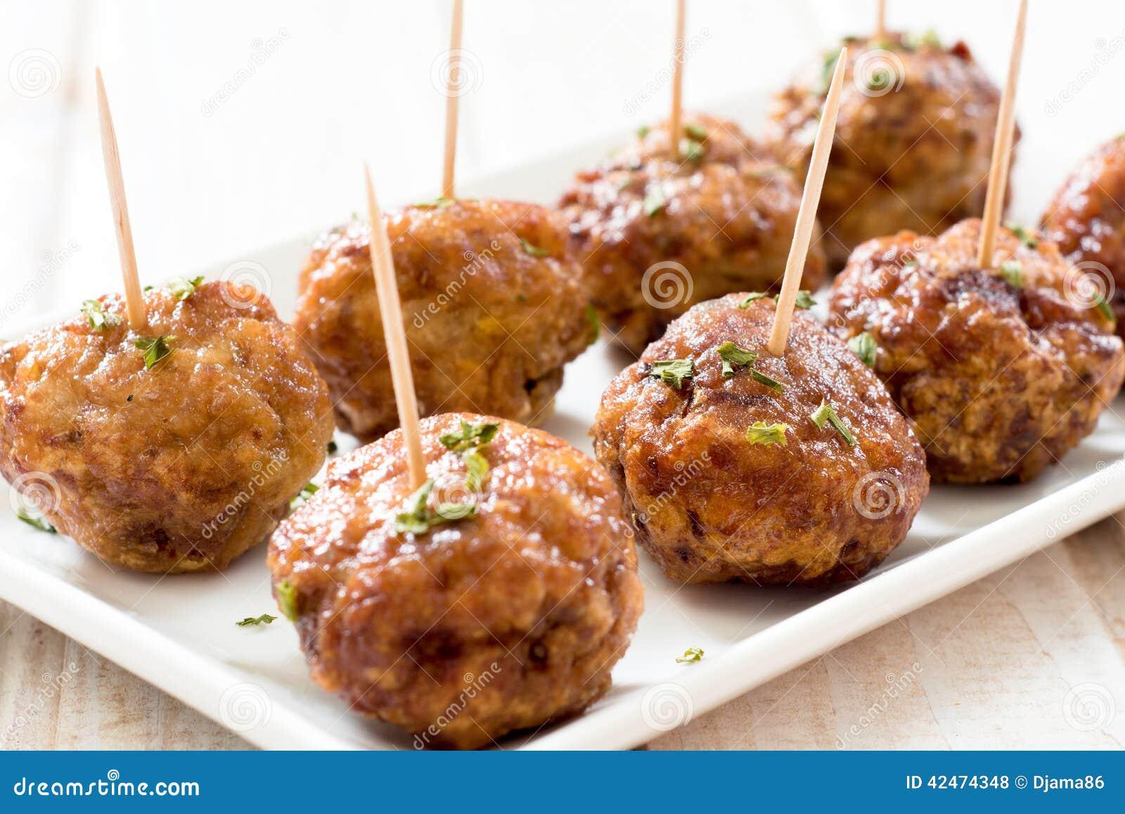 Geschmackvolle Fleischklöschen