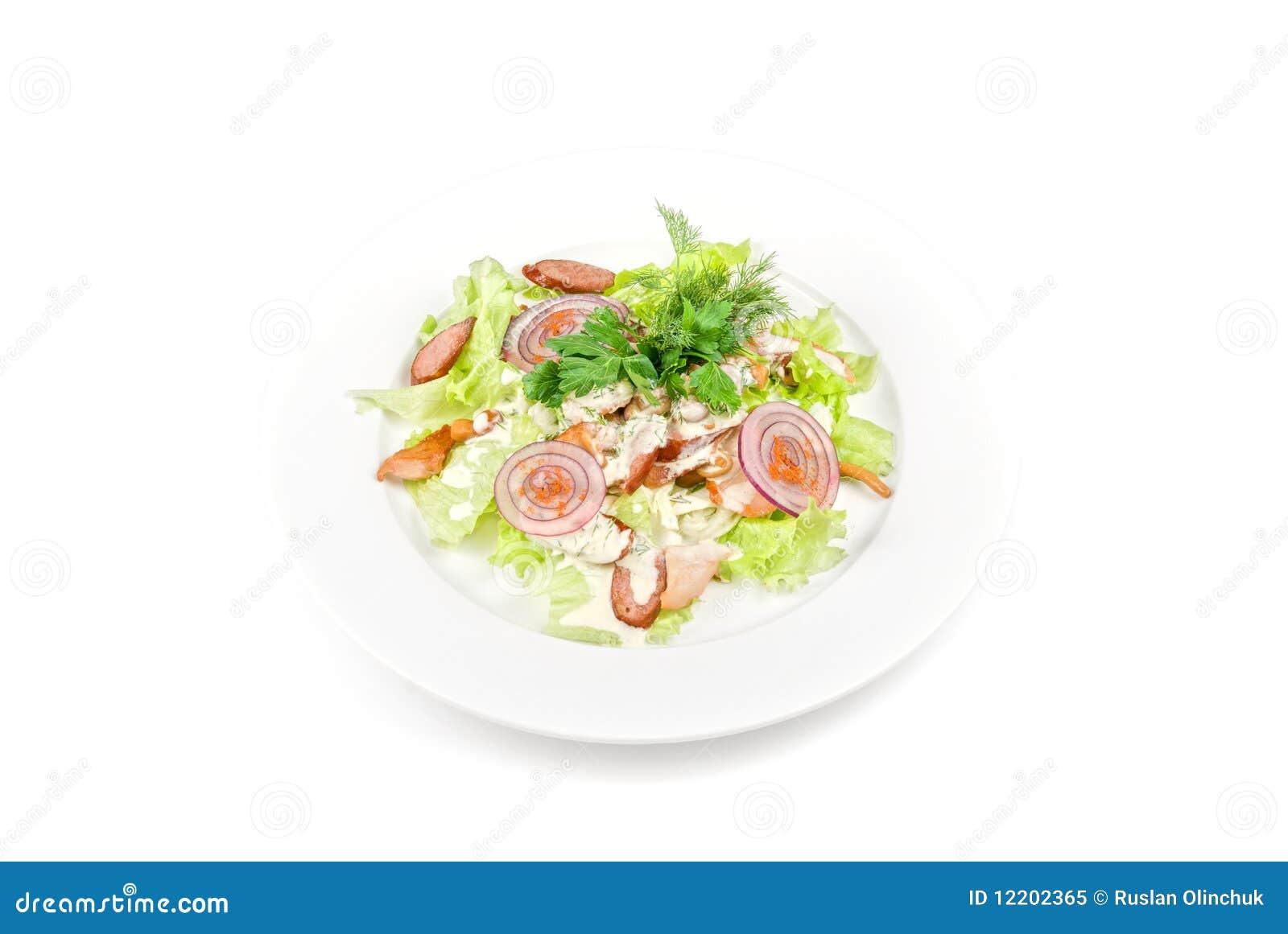 Geschmackvoller Salat