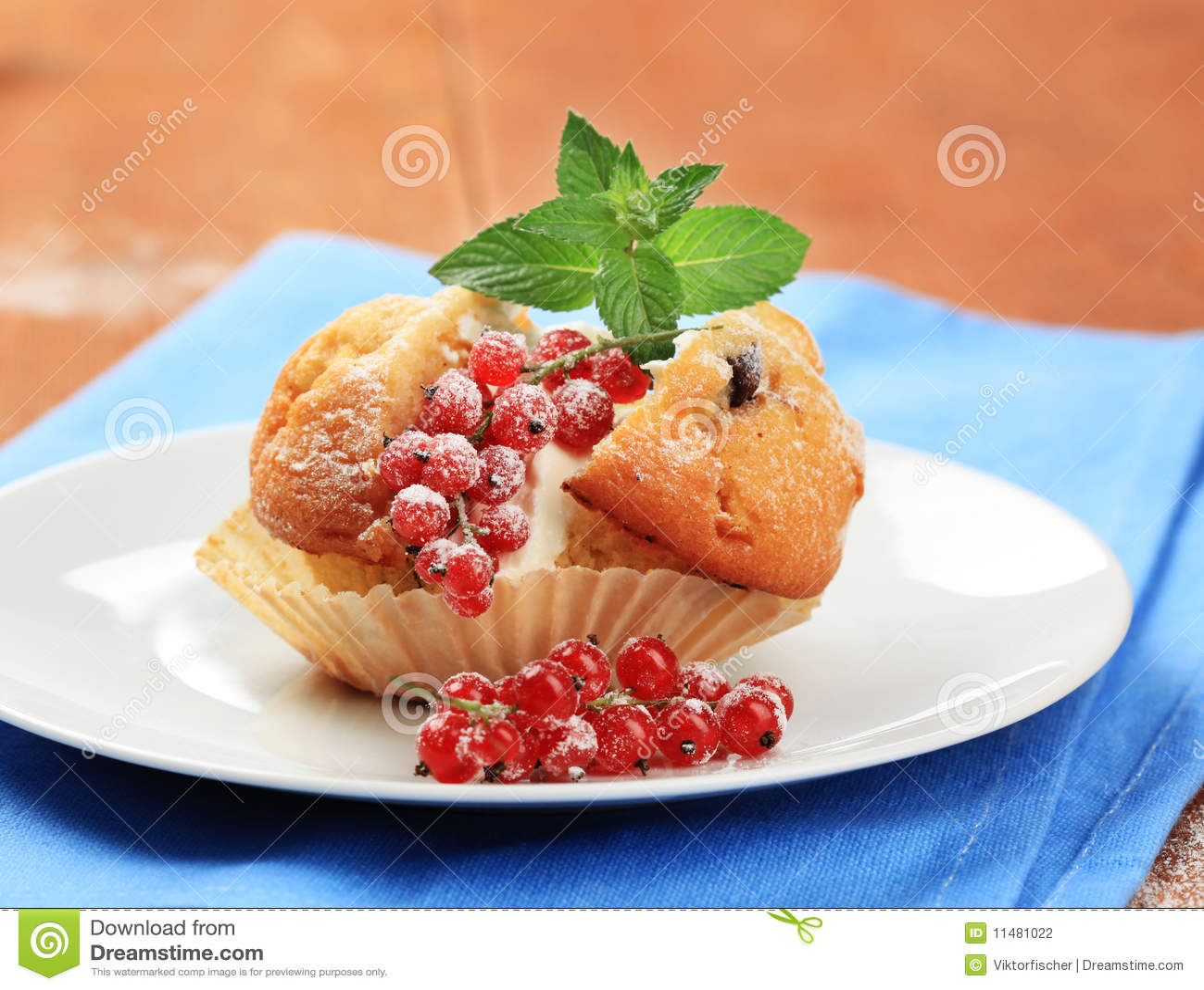 Geschmackvolles Muffin