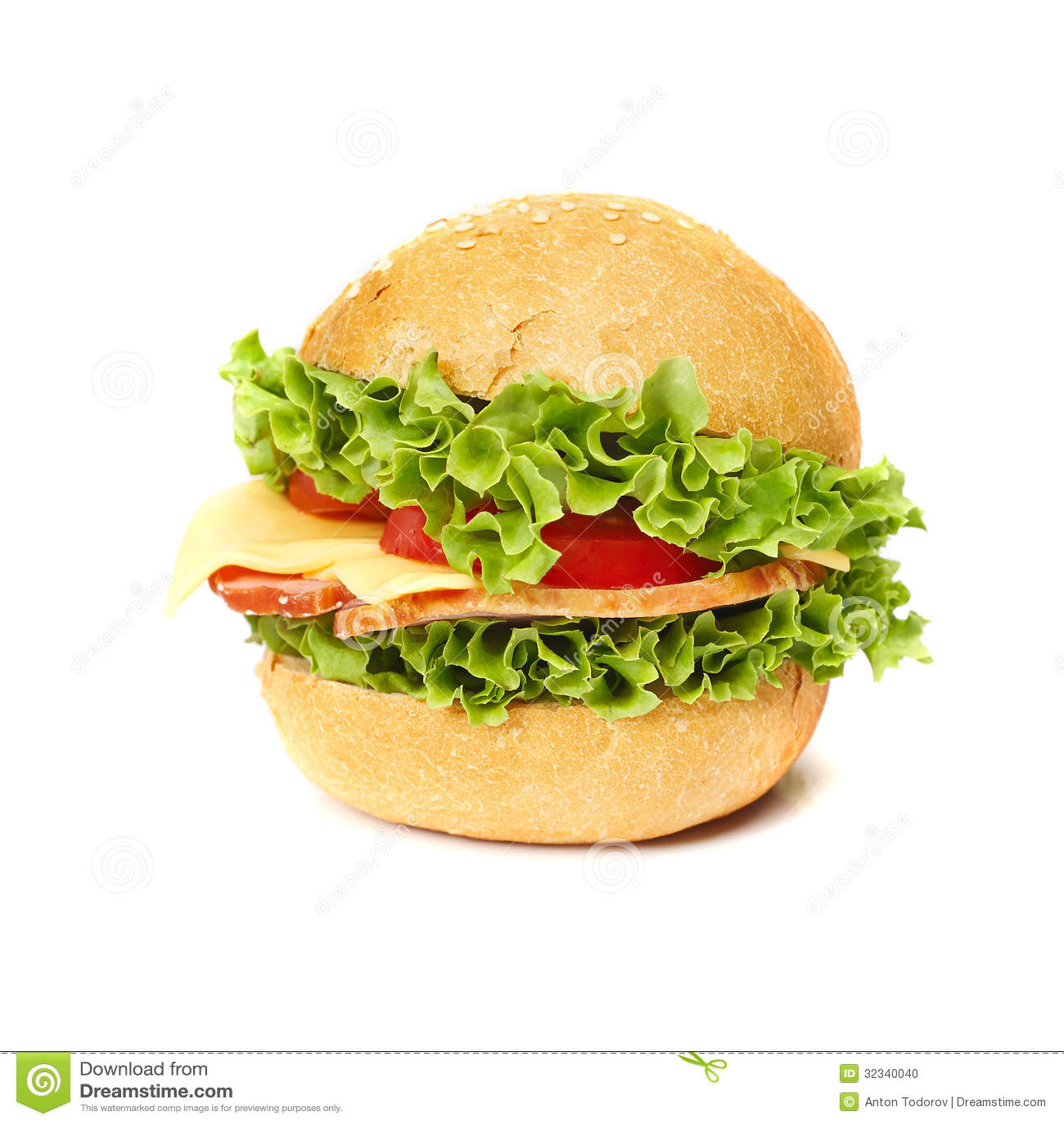 Geschmackvolles Sandwich