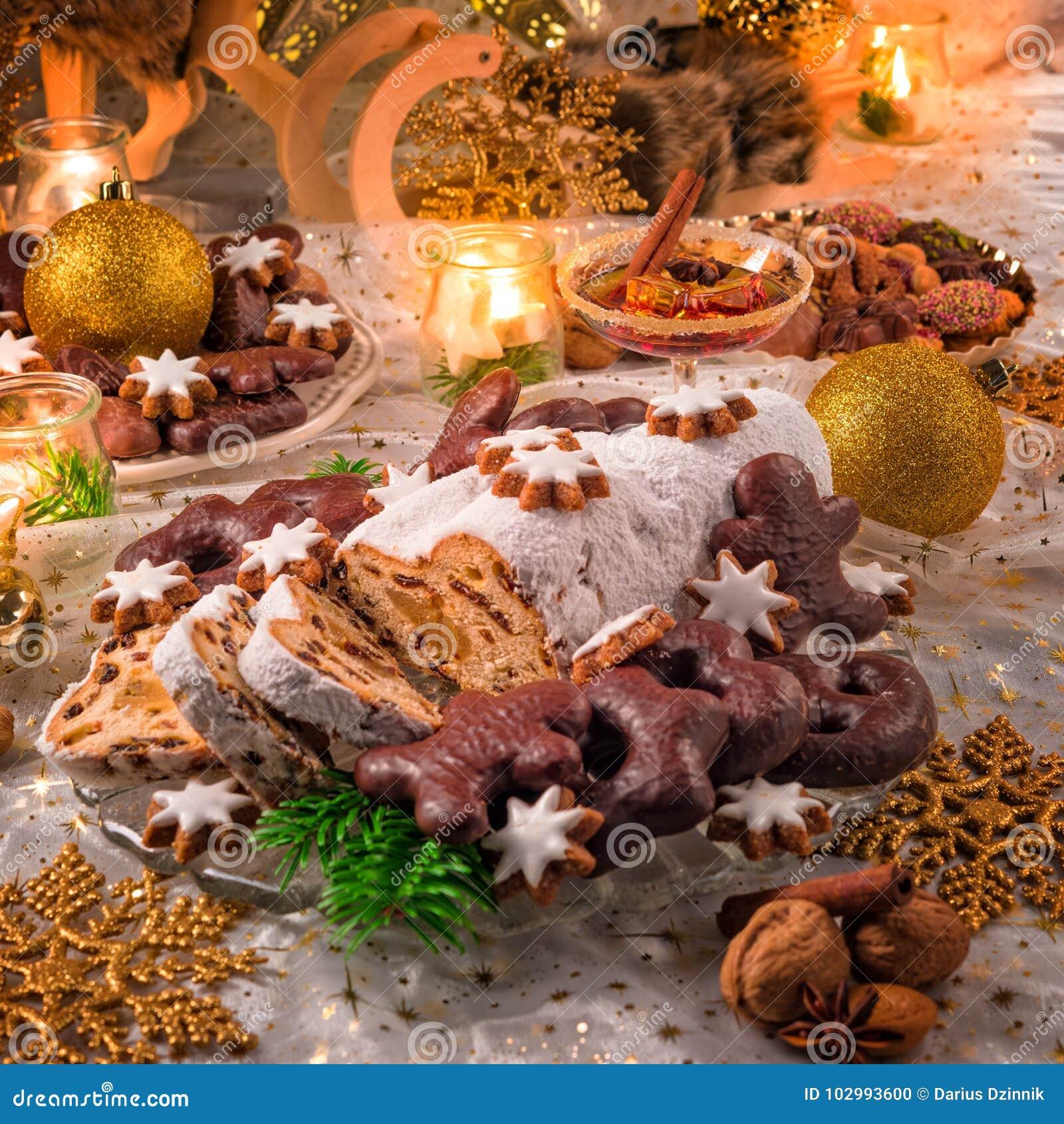 Geschmackvolles Weihnachten Stollen