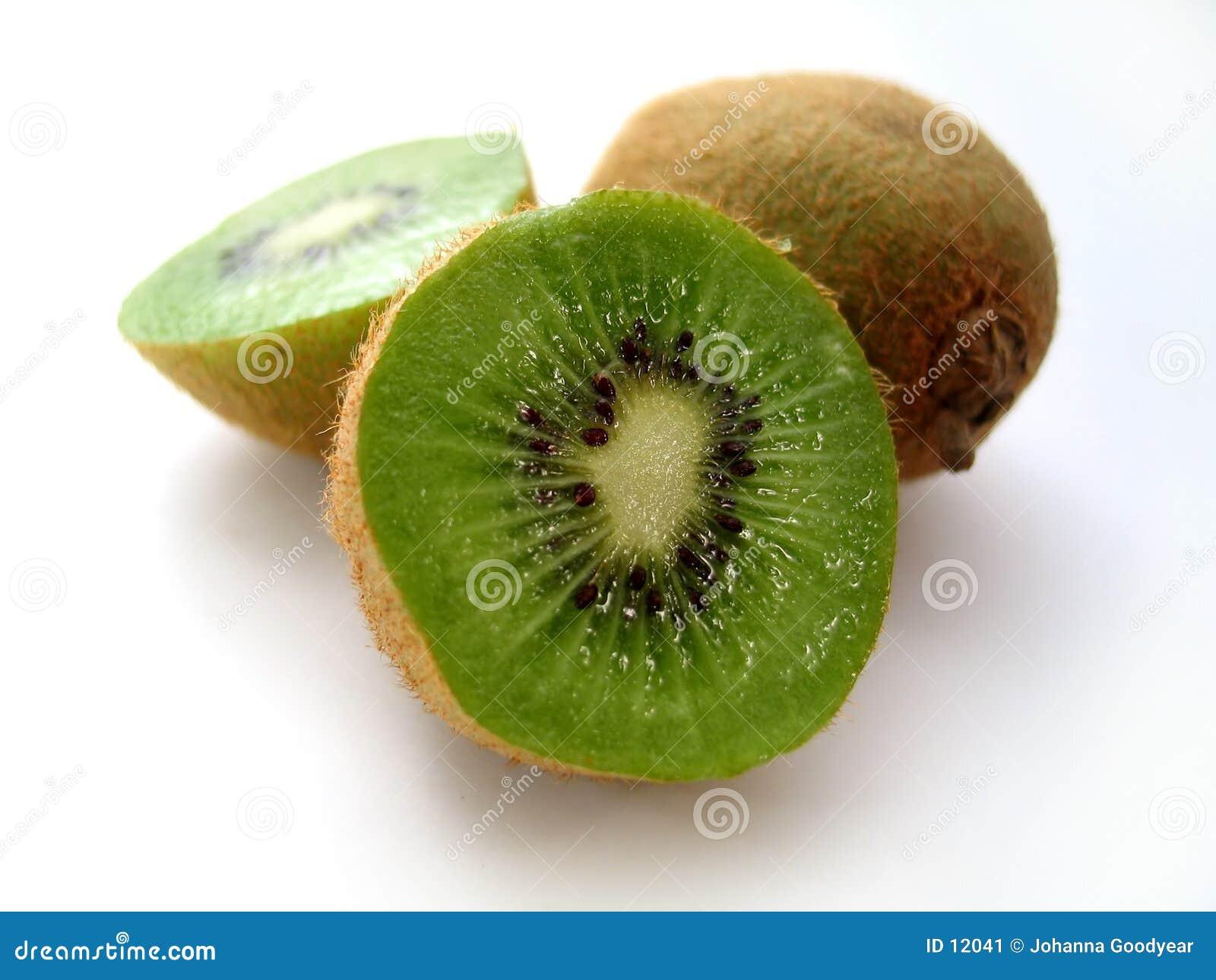 Geschnittene Kiwi