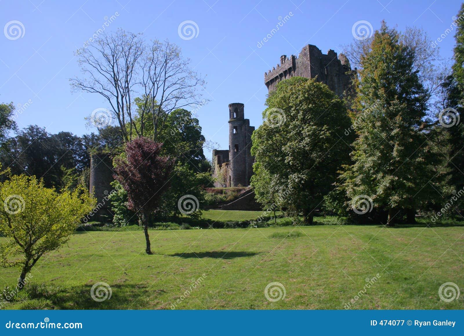 Geschwätz-Schloss und das Feld
