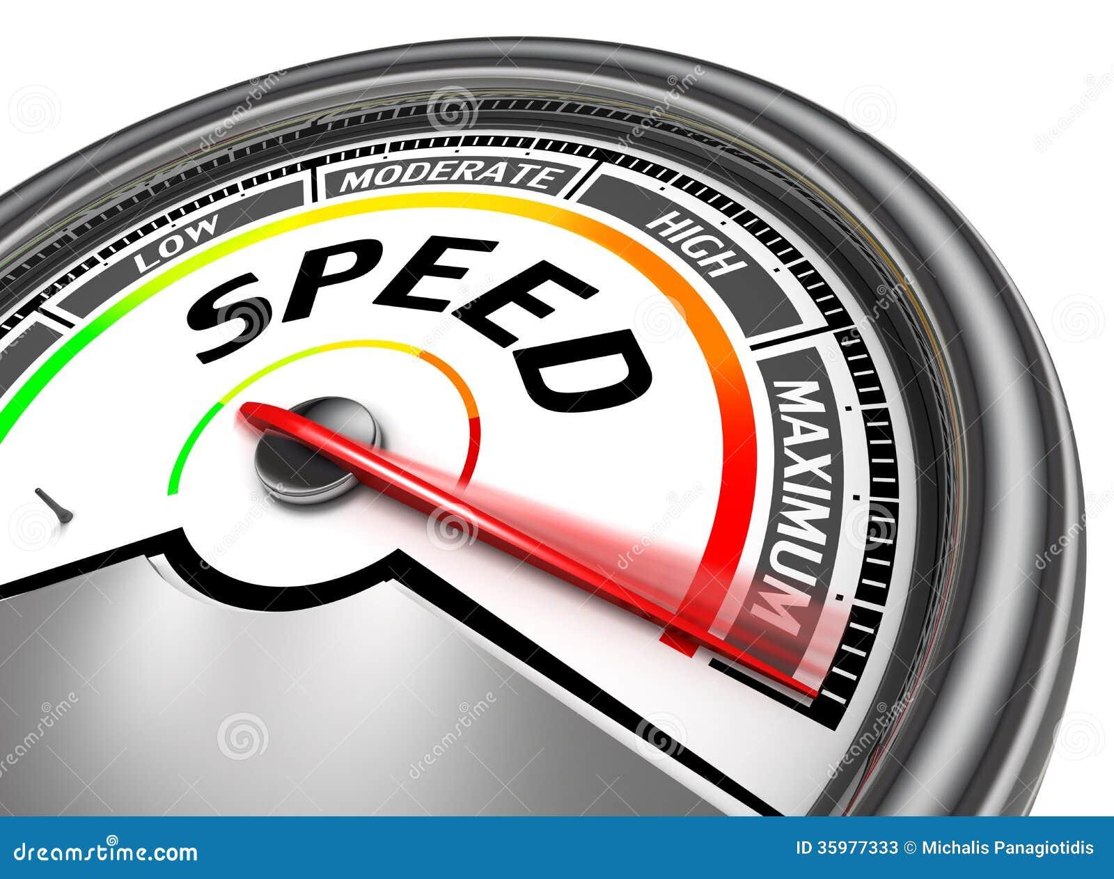 Geschwindigkeitsbegriffsmeter