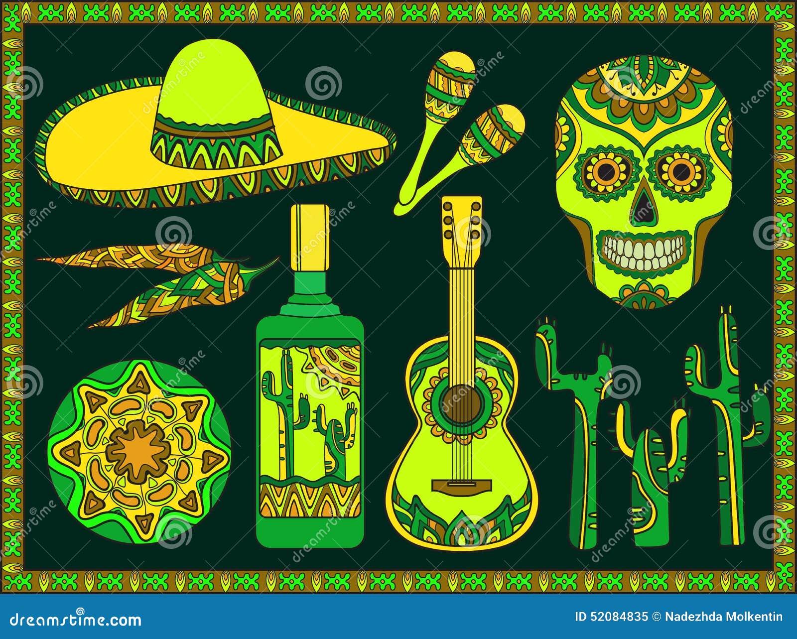 Mexikanische Symbole