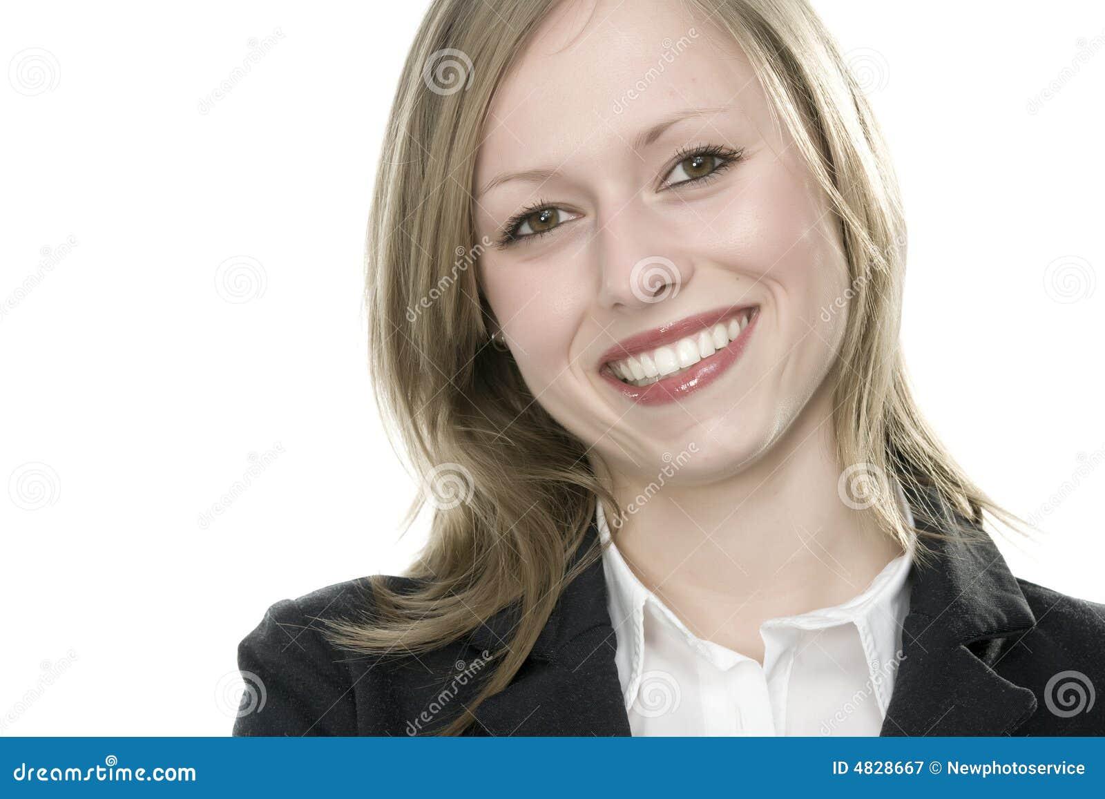 Gesicht der jungen Frau