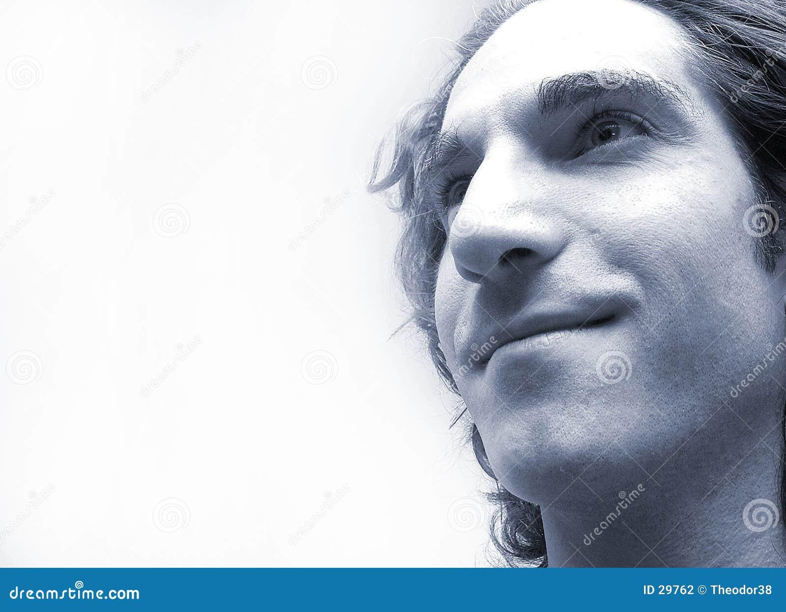 Gesicht des Mannes