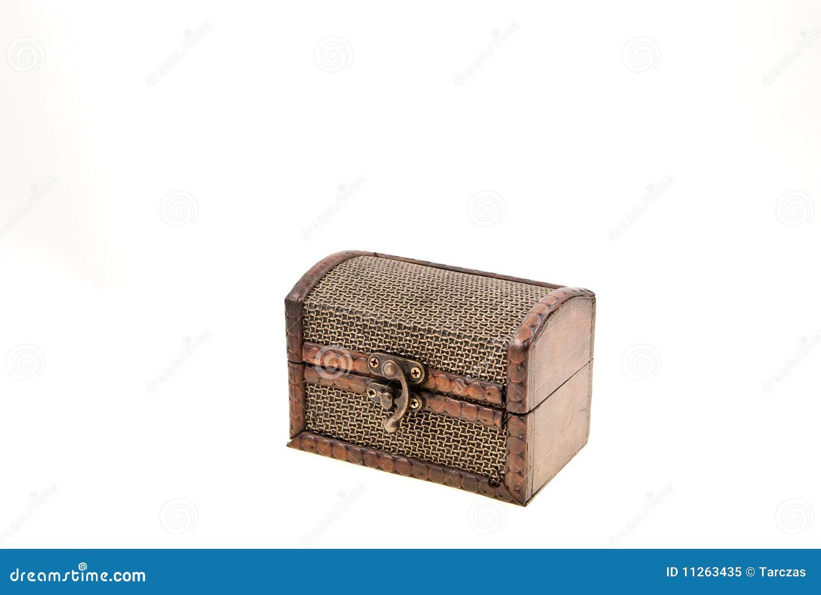 Gesloten houten en metaal oude bruine kist royalty vrije stock foto beeld 11263435 - Houten keuken en metaal ...