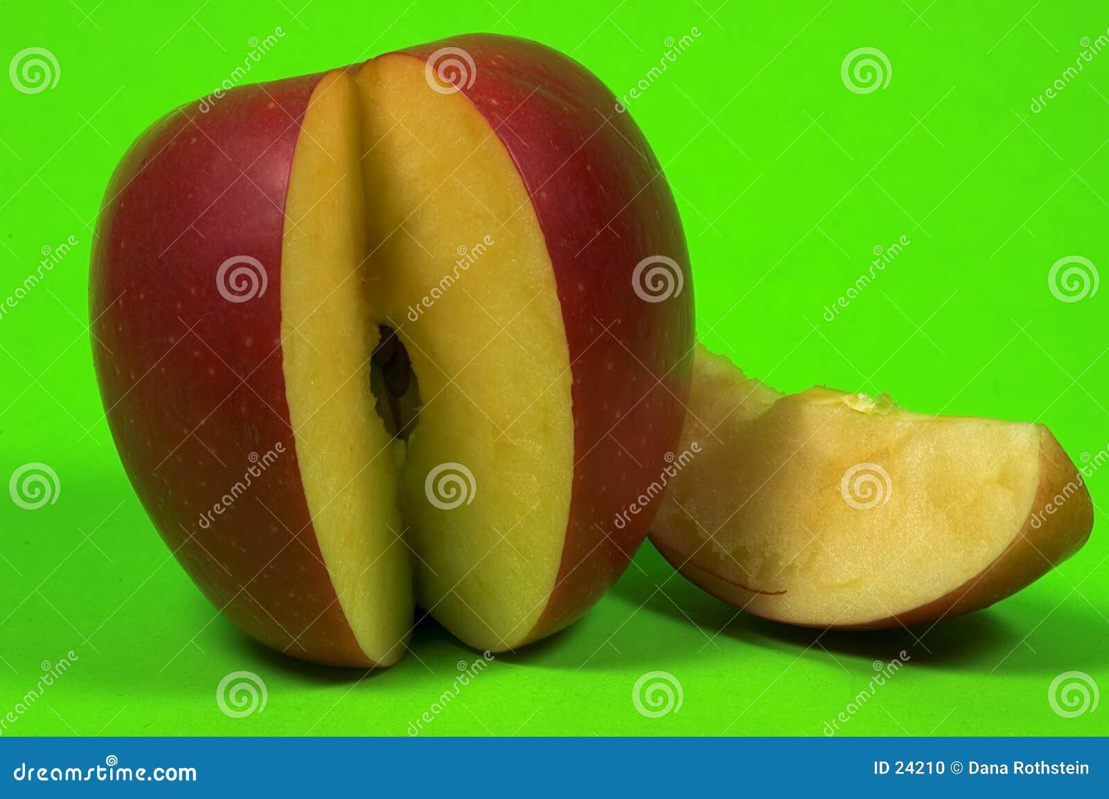 Gesneden Appel