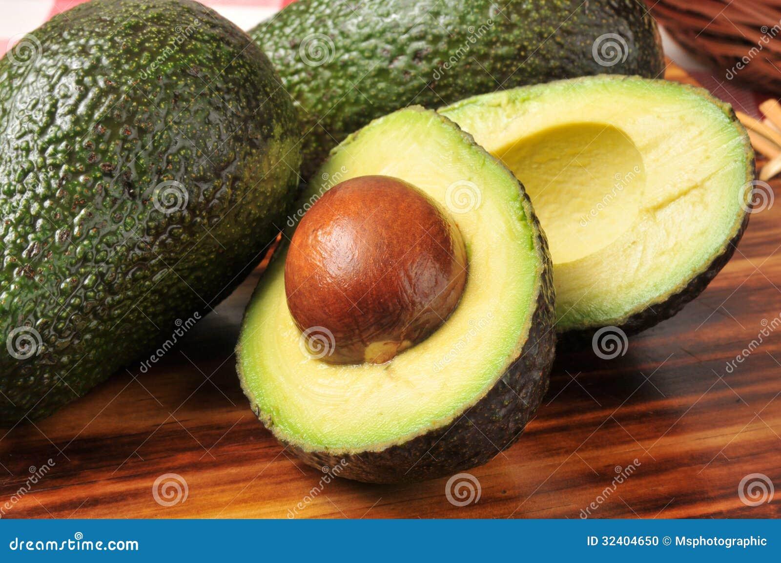 Gesneden avocado
