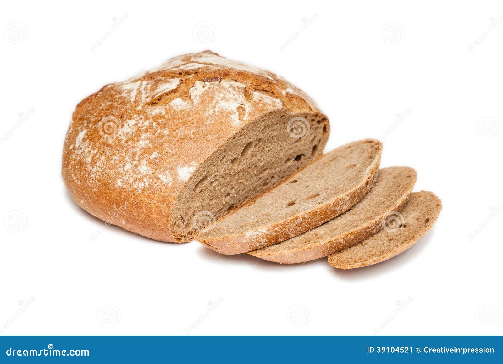 Gesneden (geïsoleerd) brood