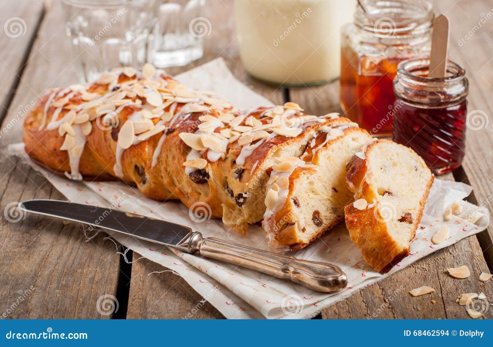 Gesneden Gevlecht Zoet Brood
