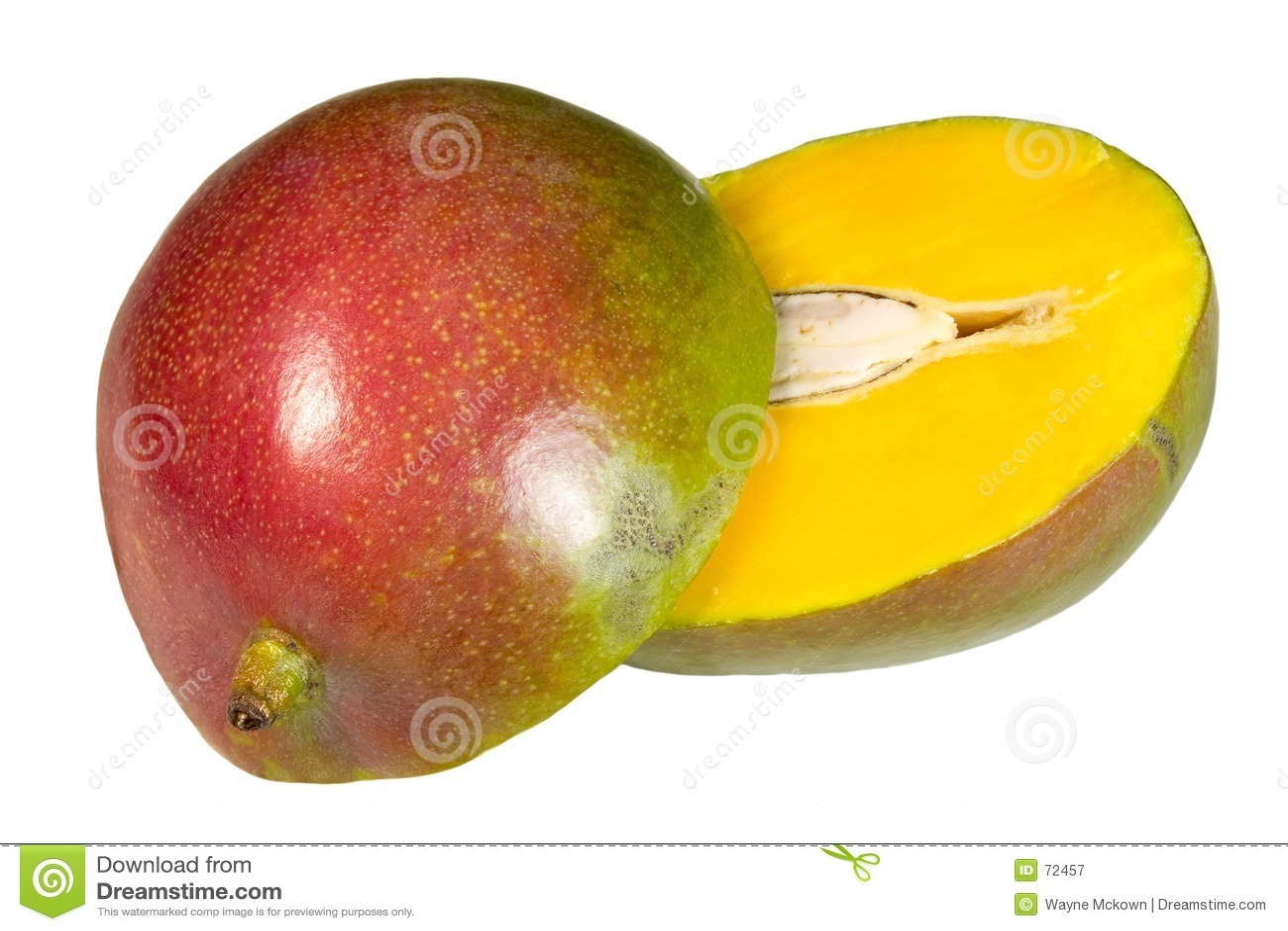 Gesneden mango
