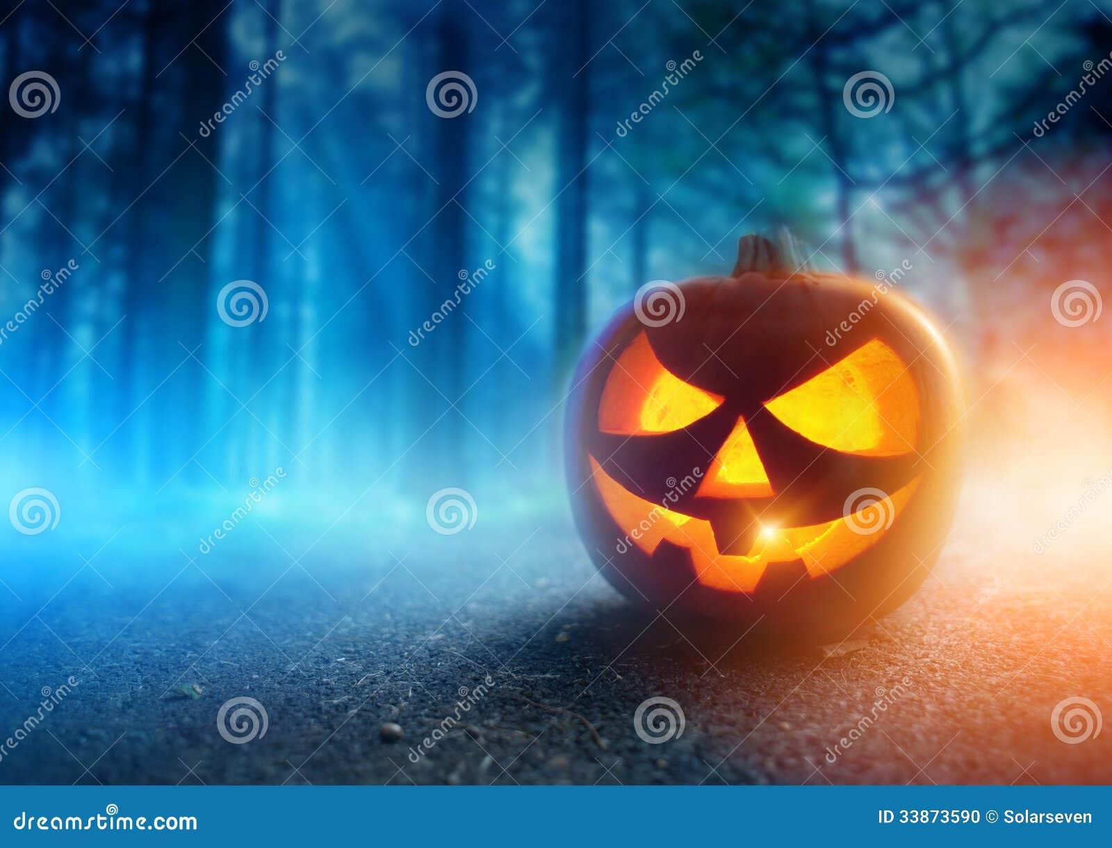 Gespenstische Halloween-Nacht